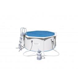Bâche solaire - 295 cm - Bleu