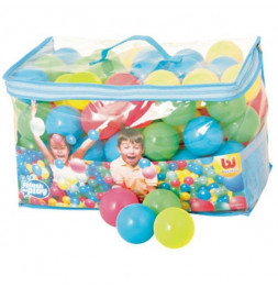 100 balles rebondissantes Splash and Play - D 6,5 cm