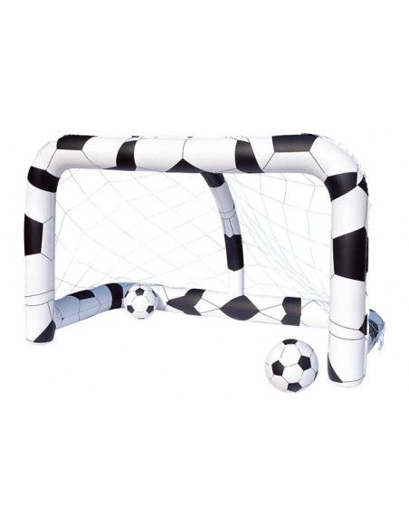 But de football - 213 x 122 x 137 cm - Blanc