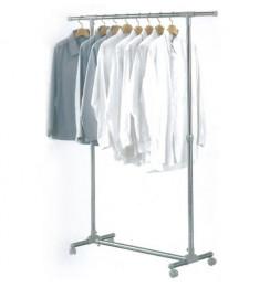 Portant à vêtements extensible en hauteur et largeur - Rangement du linge