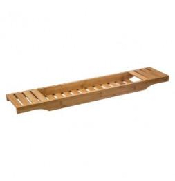 Plateau pour baignoire en bambou - 70 x 15 x 4,5 cm