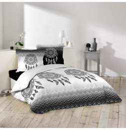 Parure de lit 3 pièces - L 240 x l 220 cm - Attrapes rêves