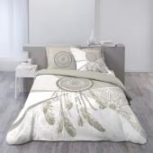 Parure de lit 3 pièces - L 240 x l 220 cm - Attrape-rêves géant