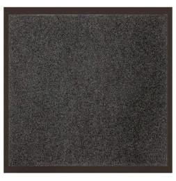 Tapis d'entrée anti-poussière - L 80 x l 60 cm - Gris