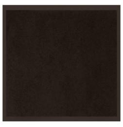 Tapis d'entrée anti-poussière - L 80 x l 60 cm - Noir