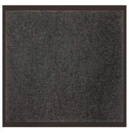 Tapis d'entrée anti-poussière - L 120 x l 80 cm - Gris