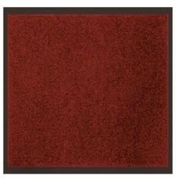Tapis d'entrée anti-poussière - L 120 x l 80 cm - Rouge