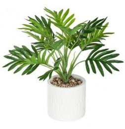 Petit palmier artificiel en pot - Etnik - H 29 cm
