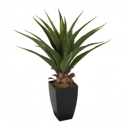 Palmier artificiel avec pot - Plante artificielle très réaliste