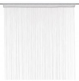 Rideau fils largeur 90 cm - Blanc