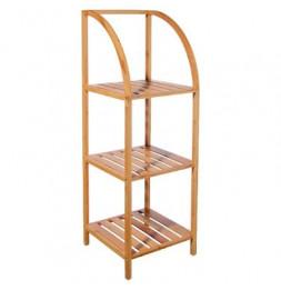 Etagère 3 niveaux en bambou - 36 x 35 x 110.5 cm