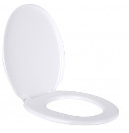 Abattant de toilette - L 45 x l 36 cm - Blanc