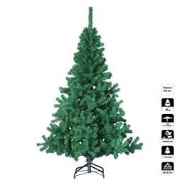 Sapin de Noël artificiel - H 150 cm - Vert