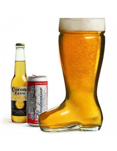 Botte à bierre 800 ml - Verre à bière fun