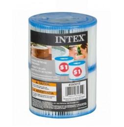 Cartouches pour SPA - Intex - 1 lot de 2 cartouches de filtration