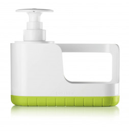 Organisateur d'évier avec distributeur à savon - Vert