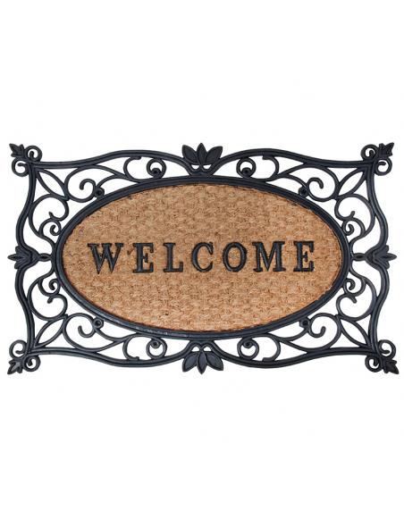 Paillasson d'entrée - Welcome - 75 x 45 cm