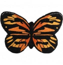 Paillasson en forme de papillon - 60 x 40 cm