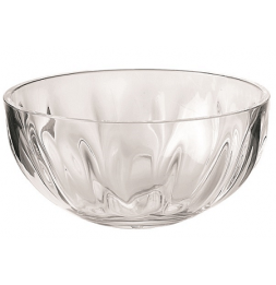 Saladier 30 cm - Guzzini - Transparent aspect verre soufflé