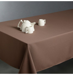 Nappe anti taches rectangulaire 150 x 300 cm - Taupe