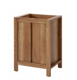 Meuble sous vasque - 60 x 46 x 79 cm - Classic oak