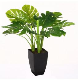 Plante verte artificielle en pot - H 70 cm - Objet de décoration