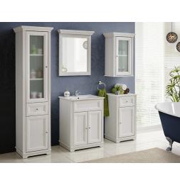 Armoire de salle de bain Palace White - 43 x 40 x 81 cm - Rangement