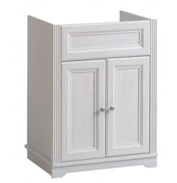 Meuble sous vasque - 60 x 45 x 79 cm - Palace White