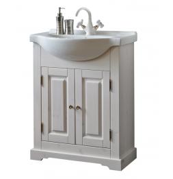 Meuble sous vasque - 65 x 32 x 81 cm - Romantic
