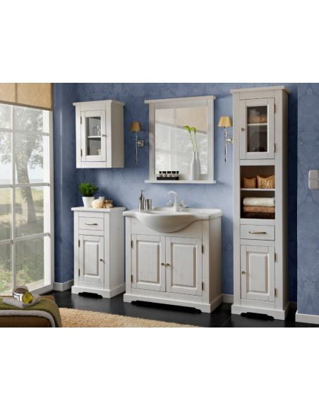 Miroir de salle de bain Romantic - 80 x 70 cm