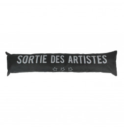 Boudin de porte - Sortie des artistes - Noir