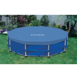 Bâche pour piscine tubulaire ronde 4,57m - Intex