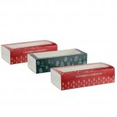 Lot de 3 x 3 boîtes coulissantes à pâtisserie