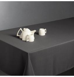 Nappe anti taches rectangulaire 150 x 300 cm - Gris foncé
