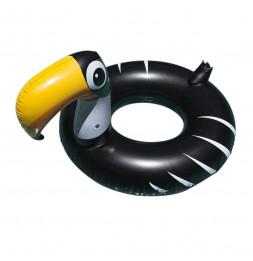 Bouée gonflable toucan - H 125 cm