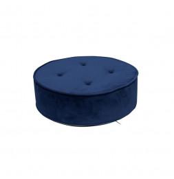 Coussin de sol en velours - Bleu