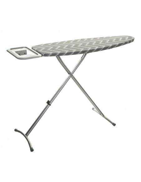 Table à repasser Saphir - L 140 x l 39 x H 90 cm - Gris