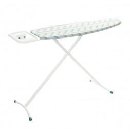 Table à repasser Saphir - L 140 x l 39 x H 90 cm - Blanc et Bleu