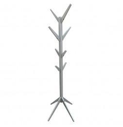 Porte manteaux en forme d'arbre - H 178 cm - Bois - Gris