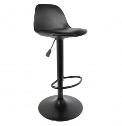 Chaise de bar - Isak - H 104 cm - Noir