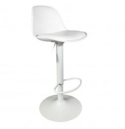 Chaise de bar - Isak - H 104 cm - Blanc