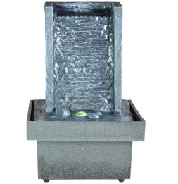 Fontaine d'intérieur zen à LED - Eclairage d'ambiance