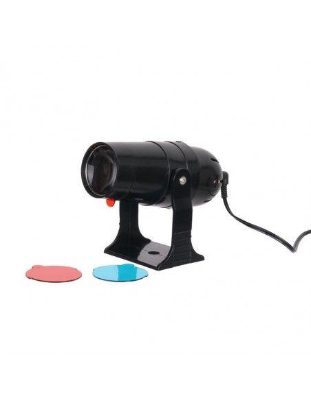 Plafonnier boule à facettes avec projecteur