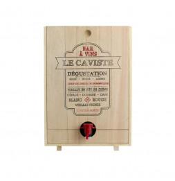 Distributeur de vin en bois - 5 Litres - Modèles aléatoires