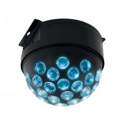 Jeu de lumière LED boule disco - L 22 x l 21 x H 18 cm - Couleur changeante