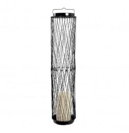 Lanterne LED rétractable - Noir