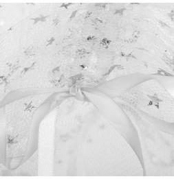 Ciel de lit - D 60 x H 250 cm - Gris