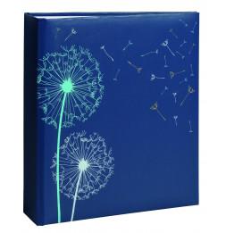 """Album photos """"nature"""" à pochettes de 200 mémos - Photo 11,5 x 15 cm - Bleu"""