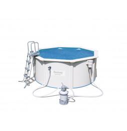 Bâche solaire - 355 cm - Bleu