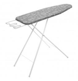 Table à repasser Opale - L125 x l 48,5 x H 4 cm - Gris